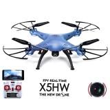 Drona SYMA X5HW Camera HD FPV TIMP REAL, Functia Auto Mentinere Altitudine, Control iOS/Android