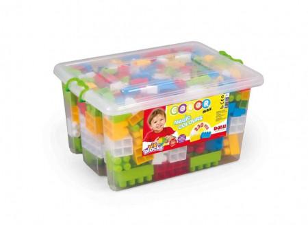 Cutie depozitare cu 230 de cuburi