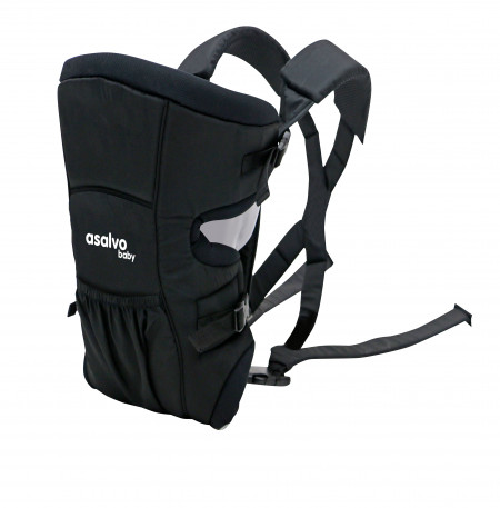 Marsupiu bidirectional Asalvo BABY CARRIER Black 2020