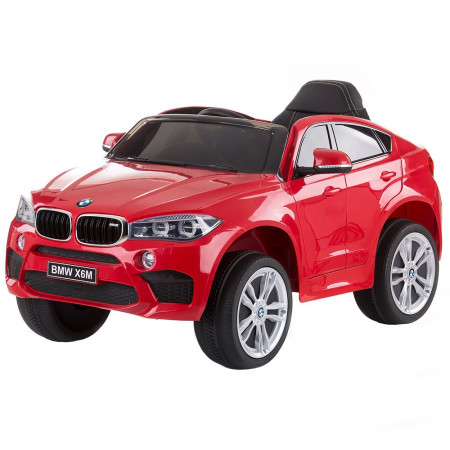Masinuta electrica Chipolino BMW X6 red cu roti EVA