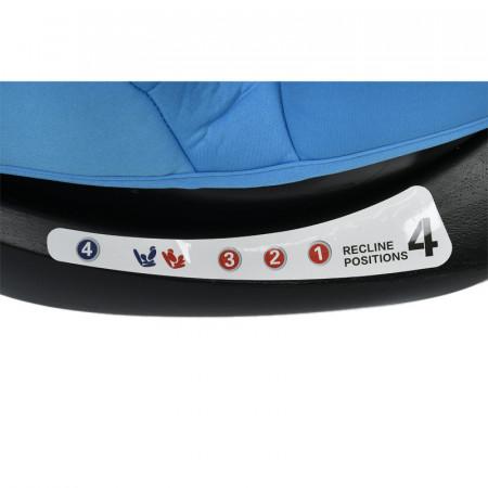 Scaun Auto Riola cu Isofix Crocodile Blue 0 36 kg