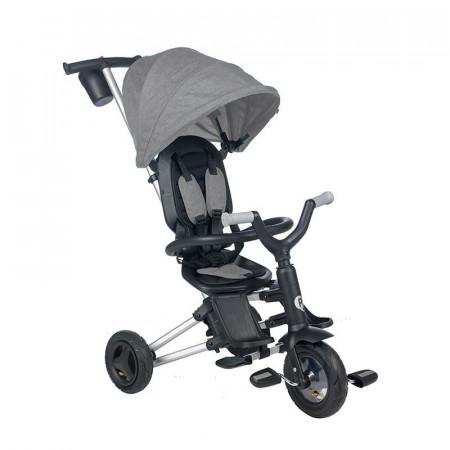Tricicleta ultrapliabila Qplay Nova Air gri