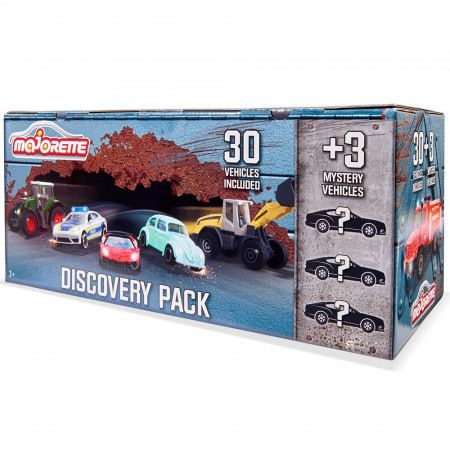 Set Majorette Discovery Pack 33 masinute