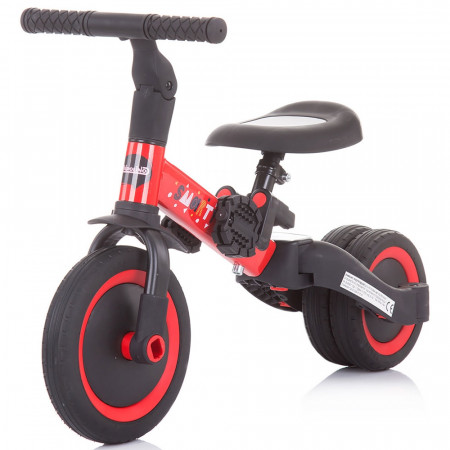 Tricicleta si bicileta Chipolino Smarty 2 in 1 red