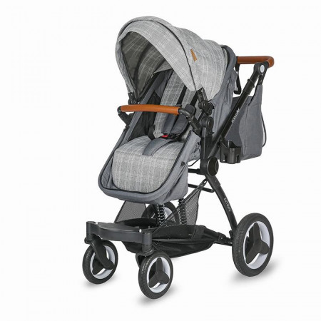 Carucior transformabil 3in1 Coccolle Ambra Urban Grey