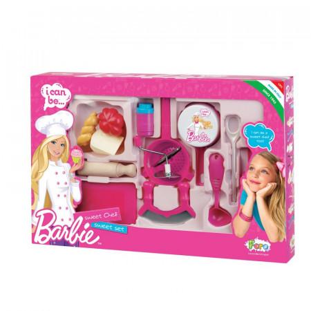 Set complet ustensile bucatarie Barbie 2714 Faro
