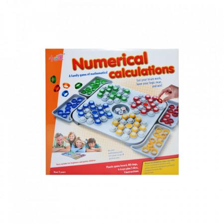 Joc logica matematica, Numerical calculations
