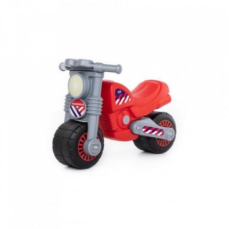 Motocicleta fara pedale, Brandweer, 63x37,5x44 cm, Polesie