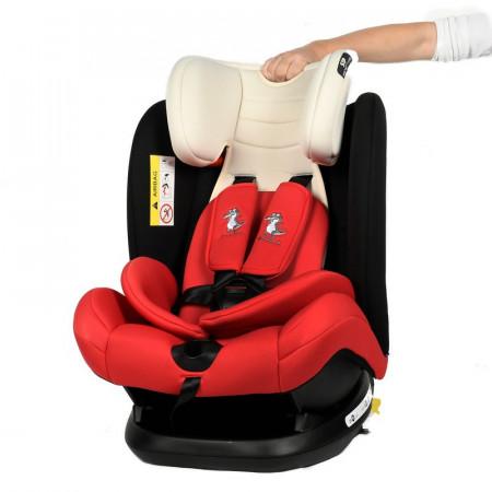 Scaun auto Mandara cu Isofix Crocodile Red