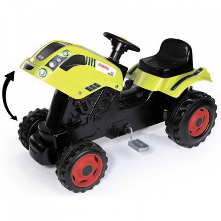 Tractor cu pedale si remorca Smoby Claas Farmer XL