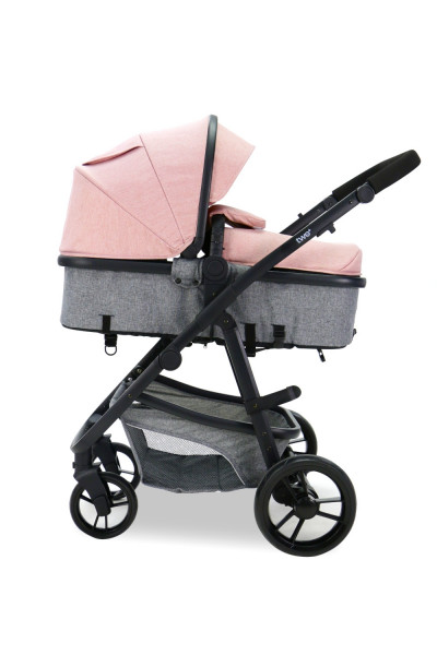 Carucior 3 in 1 Asalvo CONVERTIBLE TWO+ Pink