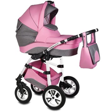 Carucior Flamingo Easy Drive 3in1 Vessanti-Pink