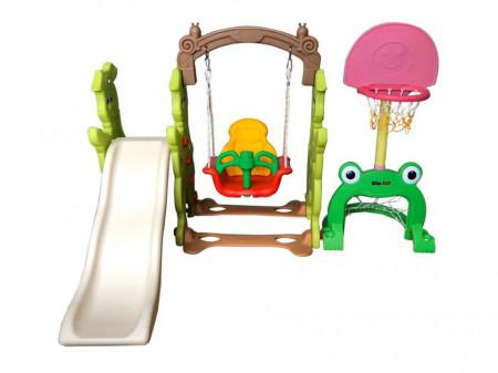Centru de joaca 4 in 1 Rabit Slide Multicolor Million Baby