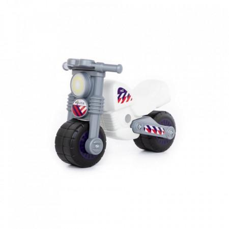 Motocicleta fara pedale, politie, 63x37,5x44 cm, Polesie
