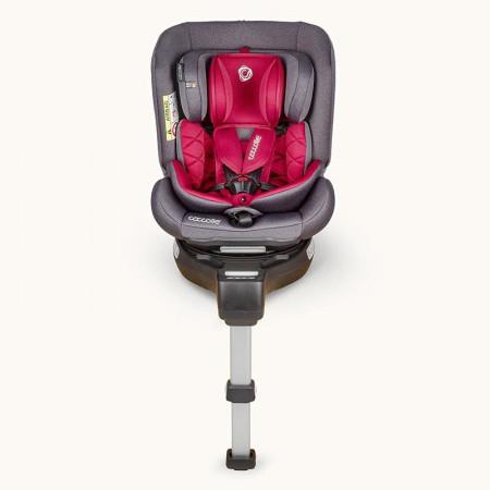 Scaun auto rotativ 0-36 kg Coccolle Astana Dahlia Red