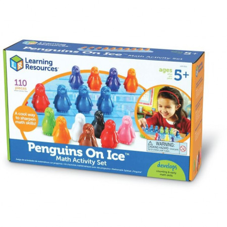 Set de matematica - pinguinii pe gheata