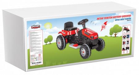 Tractor electric Pilsan ACTIVE 6V Rosu