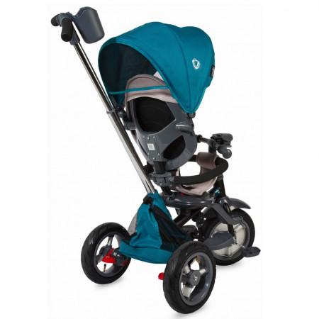Tricicleta multifunctionala 4in1 cu sezut reversibil Coccolle Velo Air Verde