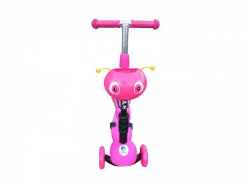 Trotineta copii smart 3in1 PINK