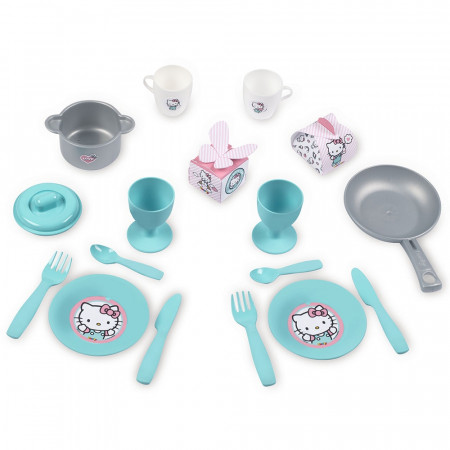 Bucatarie Smoby Hello Kitty Cooky Kitchen