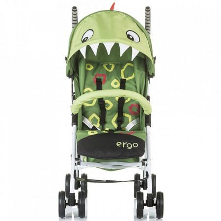 Carucior sport Chipolino Ergo green baby dragon