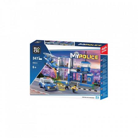 Joc constructie Blocki, Statie politie, 347 piese