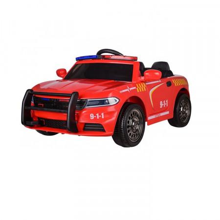 Masinuta electrica pentru copii POLICE JC666 12V PREMIUM, RED