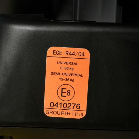 Scaun Auto Ruby Deluxe cu ISOFIX Crocodile 0 36 kg Black pozitie somn 137 grade