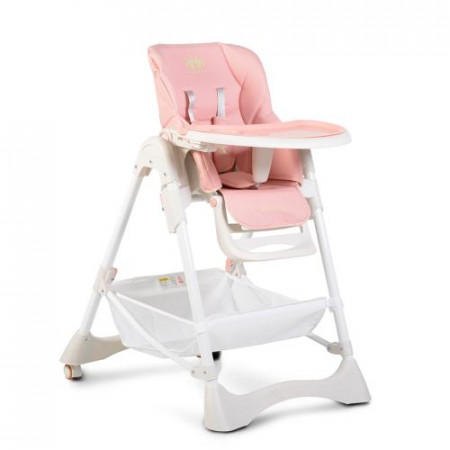 Scaun de masa copii Cangaroo Chocolate Pink