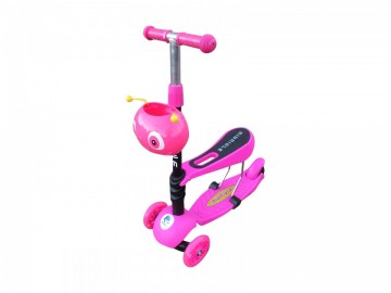 Poze Trotineta copii smart 3in1 PINK