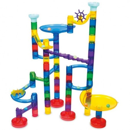 Galt Super Marble Run - Set reflectorizant - 60 piese