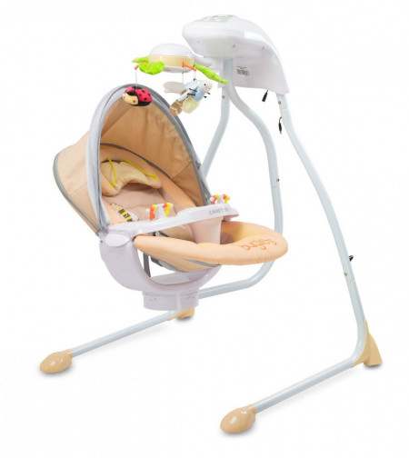 Leagan electric Caretero BUGIES Beige