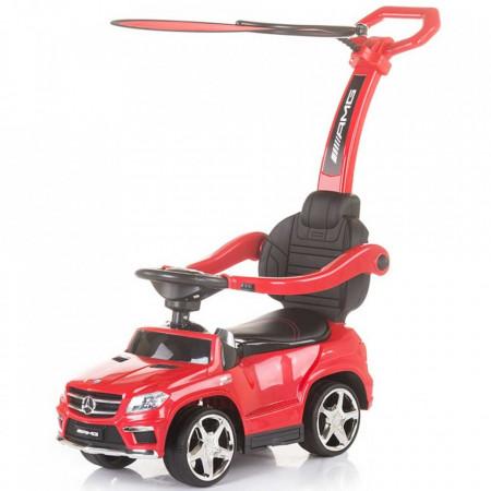 Masinuta de impins cu copertina Chipolino Mercedes Benz GL63 AMG red