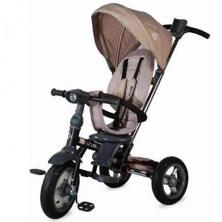Tricicleta multifunctionala 4in1 cu sezut reversibil Coccolle Velo Air Bej