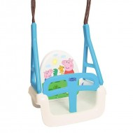 Leagan Multifunctional 3 in 1 - Tega Baby - Peppa Pig, Albastru