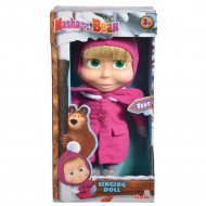 Papusa Simba Masha and the Bear Masha Singing Doll 30 cm