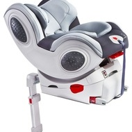 Caretero CHAMPION ISOFIX 0-18 Kg Grey