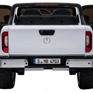 Masinuta electrica Mercedes X-Class, MP4, roti EVA, 4X4, White