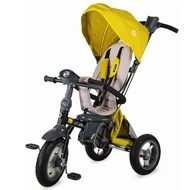 Tricicleta multifunctionala 4in1 cu sezut reversibil Coccolle Velo Air Mustar
