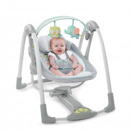 Ingenuity - Leagan portabil Swing 'n Go Portable Swing™ - Hugs & Hoots™