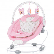 Leagan electric si balansoar Chipolino Paradise pink ribbon