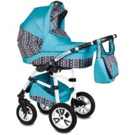 Carucior Flamingo Easy Drive 3in1 Vessanti-Turquoise