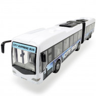 Autobuz Dickie Toys City Express Bus alb