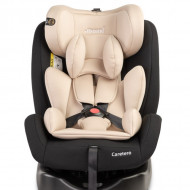 Caretero MOKKI Rear-facing 360 ISOFIX 0-36 Kg Beige