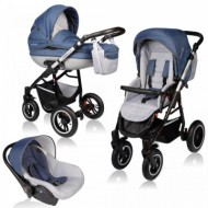 Carucior Crooner Prestige 3 in 1 - Vessanti - Blue