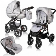 Carucior Crooner Prestige 3 in 1 - Vessanti - Light Gray