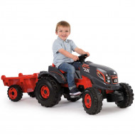 Tractor cu pedale si remorca Smoby Stronger XXL