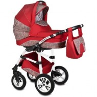 Carucior Flamingo Easy Drive 3in1 Vessanti-Red