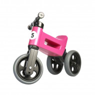 Bicicleta fara pedale Funny Wheels RIDER SPORT 2 in 1 Pink