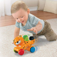Jucarie Fisher Price by Mattel Infant Press and Go Tigru
